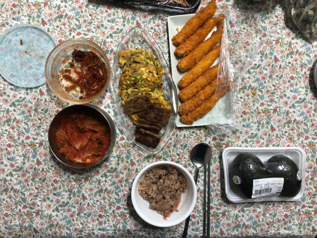korean home style meal